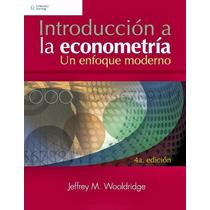Libro: Introducción A La Econometría: Un Enfoque Moderno Pdf