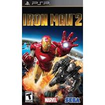 Jogo Iron Man 2 Homem De Ferro Psp Sega Original Lacrado
