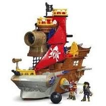 Dhh61 Navio Pirata Tubarao / Imaginext