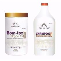 Melhor Bot-ox Capilar Sem Formol New Liss Hair +shampoo 300