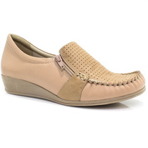 Sapato Comfortflex Mocassim   Zariff