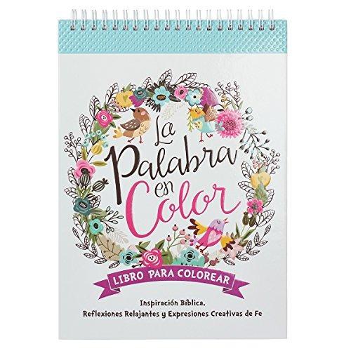 La Palabra En Color Biblia Verso Libro De Colorear En Españ ...