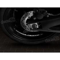 Adesivos Centro Roda Refletivo Moto Honda Cb300r Rd9 Decalx