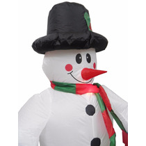 Boneco Gigante De Neve Natal Inflavel Natalino Decoracao