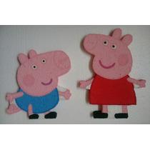 Figuras De Anime Peppa Pig Y George Pig Combo Fiesta