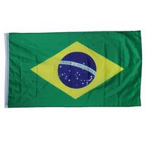 Bandera De Brasil 1.5mts De Largo X 90cm Rio Olimpiadas