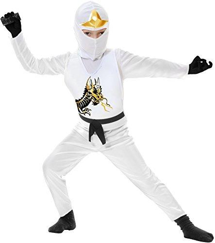 Disfraz Blanco Ninja Avenger Ii Para Niño - $ 173.500 en Mercado Libre