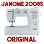Máquina De Costura Janome 2008s Nova Black Friday + Barato