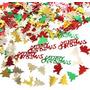 Confetti De Navidad - Merry Christmas Y Arbolitos -