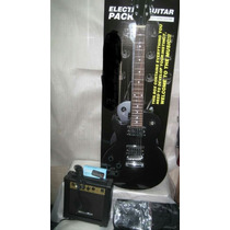 Guitarra Tipo Lp Zurda Electrica En Paquete