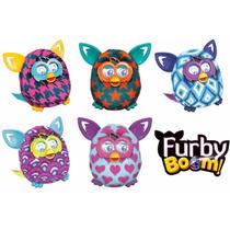 Boneco Hasbro Furby Boom Português Original + Brinde