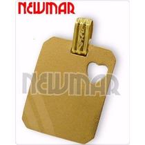 Dije Medalla Oro 18 Kts Con Grabado Para Mama-15-dama Newmar