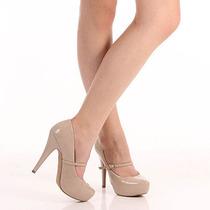 Sapato Boneca Feminino Lara - Nude
