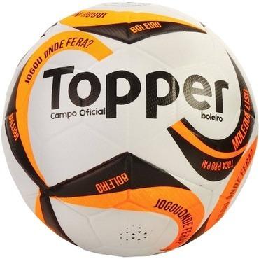 c26e71cb01 Bola De Futebol Campo Boleiro Oficial Topper Tamanho 5 - R  139
