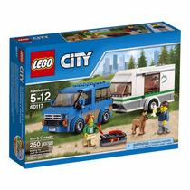 Educando Lego City 60117 Vehículo Van Y Caravan Bloques
