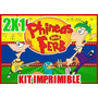 Kit Imprimible Phineas And Ferb 2x1