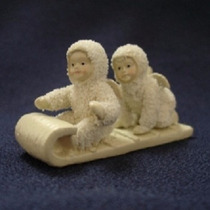 Figura De Porcelana Snowbabies
