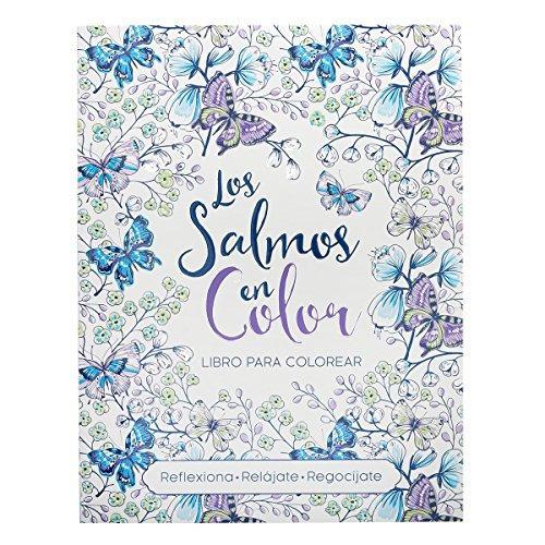 Libro Para Colorear El Versículo De La Biblia De Los Salmos ...