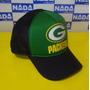 Bone Green Bay Packers Futebol Americano Trucker Cap Tela