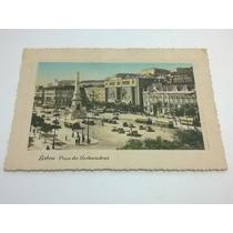 Cartão Postal Antigo Portugal Lisboa Selado - Lt0029
