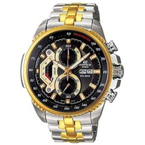Relógio Casio Edifice Ef-558d Original Promocional Top