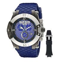 Reloj Mulco Prix Acero Silicón Azul Hombre Mw53068041