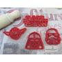 Moldes Cortantes Kit Star Wars 4 Moldes
