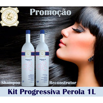 Eternity Liss Kit Escova Progressiva Stylishine Pérola 1l