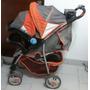 Carro Infanti Mod S281 4en1+ Huevito+ Base Para El Auto