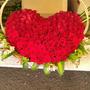 Canasta De 200 Rosas Maxima Calidad En Forma De Corazon