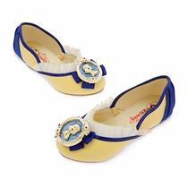 Zapatillas De Disney Para Disfraz Original De Blanca Nieves,