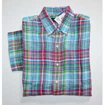 Camisa Social Polo Ralph Lauren Tamanho Ggg Xxl Manga Curta