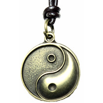 Cordão Colar Masculino Yin Yang