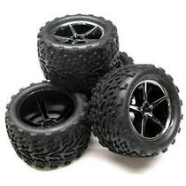Maxximus Hobby - Jogo Roda/pneus Traxxas 1/16 E-revo 4 Peças