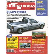Revista Quatro Rodas Nº442 - Picape Fiesta