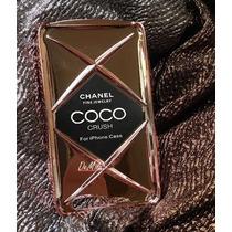 Case Funda Iphone 6s Plus Rosa Metalica Chane Coco