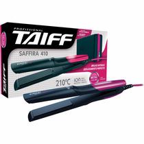Chapinha Prancha Taiff Saffira 410 Rosa Pink Estojo Térmico