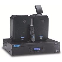 Crown 140max Amplificador Con Jbl Control 1s Bocinas Par