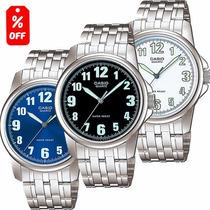 Reloj Casio Mtp1216 - Cristal Mineral - 100% Original Cfmx