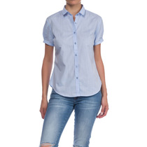 Camisa Mujer Kevingston Oficial Florbella Bsness Liso M/c