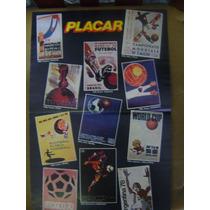Poster Placar Cartazes Da Copa Do Mundo 1930 A 1978