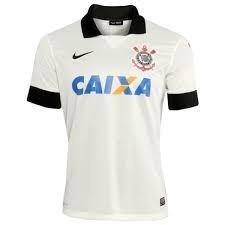 2012bc94ba Camisa Corinthians Nike 2104 Branca Timão - R  138