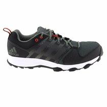 Zapatillas Adidas Running Galaxy Trail Hombre Negro C/verde