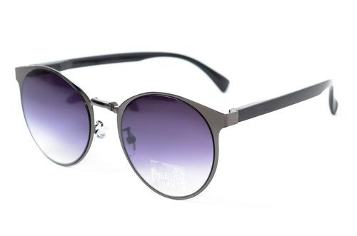 53e8b98ce6f2e Oculos De Sol Redondo Feminino Grande Cinza Lente Degrade - R  89,99 em  Mercado Livre