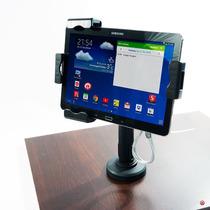 Soporte Fijo Seguridad Tablet 10 Pulgada Chicote Acero Llave