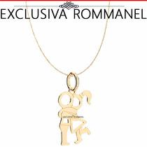 Rommanel Conjunto Pingente Corrente Namorado 541829 530591