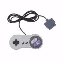 Controle Usb Super Nintendo / Snes Joystick * Azul E Roxo