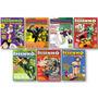 Kit Como 7 Revistas De Desenho Manga E Super-heróis