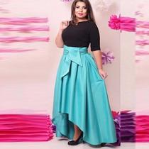 Hermoso Vestido Moda Asiatica ,coctel Tallas Extras