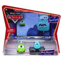 Cars Disney Pixar Mike & Sulley Supercarged Bunny Toys